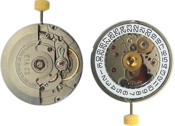 Genuine ETA 2824-2 Swiss Watch Movement vs Japanese Miyota 8215 Replica Watch Movement