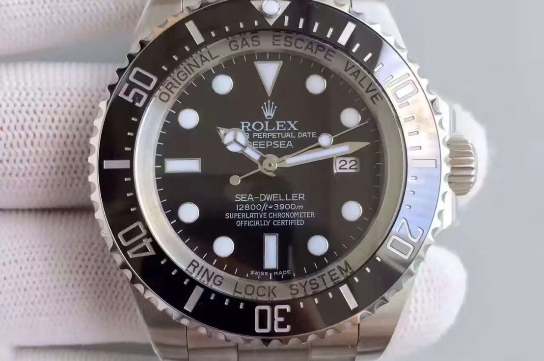 Review: Best Rolex Sea-Dweller DEEPSEA replica watch with SWISS Rolex 3135 Movement
