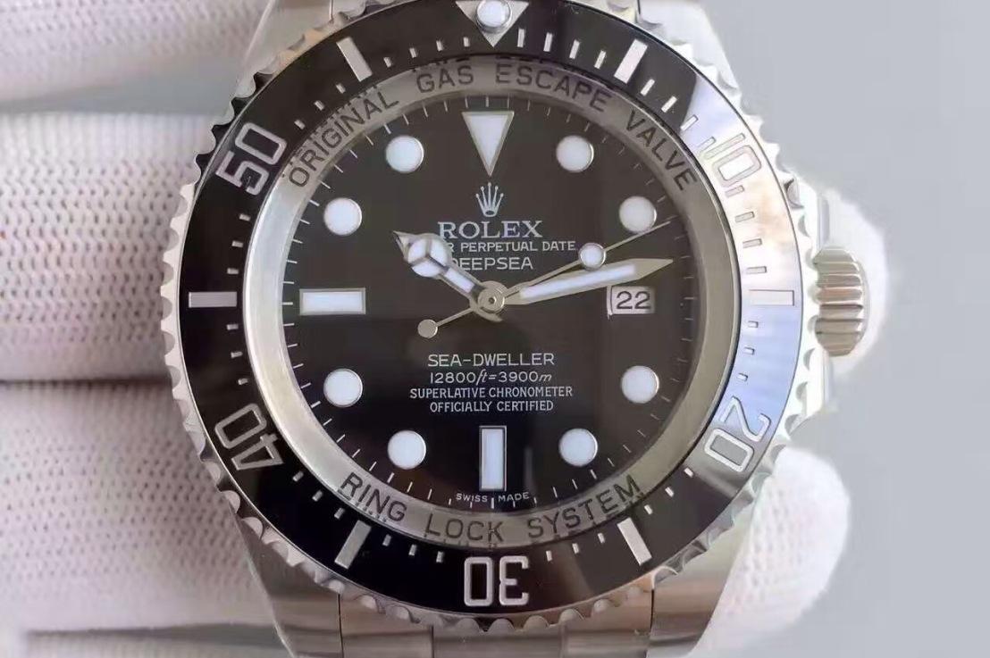 Review: Best Rolex Sea-Dweller DEEPSEA replica watch with SWISS Rolex 3135Movement
